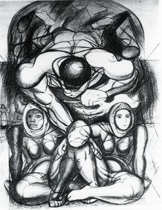 Allegory of Racial Equality, 1943  David Alfaro Siqueiros