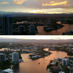 Fantastic evening in Surfers Paradise