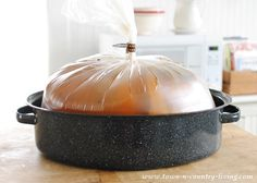How to Brine a Turkey for Thanksgiving Dinner