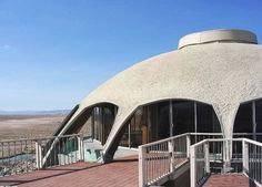 Volcano House, Newberry Springs, CA by Harold J. Bissner (1968)