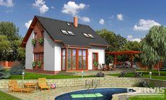 Rodinný dům Akát - typový projekt G SERVIS