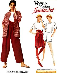 1980's Vogue Mizrahi Separates Pattern  VOGUE by ShellMakeYouFlip