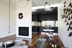 Alacena. Blog de arquitectura, diseño y decoración: Negro y dorado
