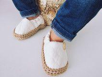 Zapatos recién nacido, zapato de bebé - Ivory