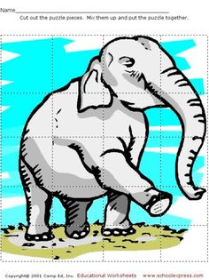 FREE worksheets, create your own worksheets, games. Maze Puzzles, Fun Worksheets, Thematic Units, Puzzle Pieces, Fun Math, Early Learning, Pre School, Fun Games, Art For Kids