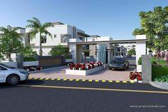 entrance colony gate design - Google Search
