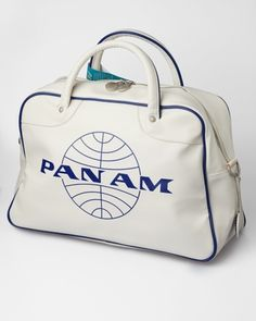 Pan Am Orion weekend Bag - Vintage White  by Pan Am    $89.00