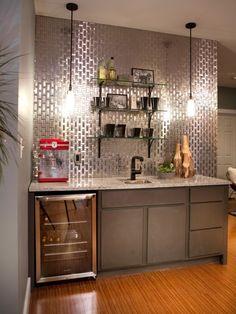 30 Stylish Contemporary Home Bar Design Ideas