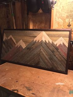 Needed decor in my house : woodworking