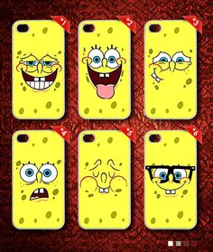 Spongebob Squarepants Faces Part2 Phone Case  Spongebob by DEVALOP Spongebob Squarepants, Faces, Phone Cases, Iphone, Face, Phone Case, Sponge Bob