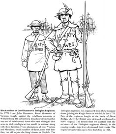 A SOLDIER'S LIFE IN THE CIVIL WAR ~~ Coloring Page 1 of 5
