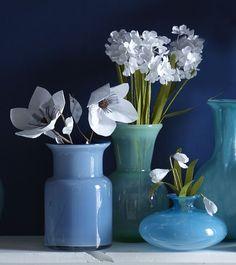 Paper Flowers - White | west elm