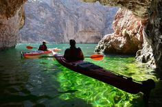 Kayak Emerald Cave in Las Vegas. For those of us who want to see the daytime in Vegas!