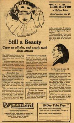 Pepsodent Company's tooth paste – Still A Beauty (1924)
