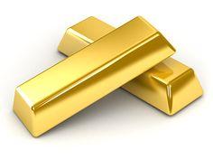 Lingotes de oro.