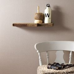 Winchester Biscuit Wallpaper by Graham and Brown