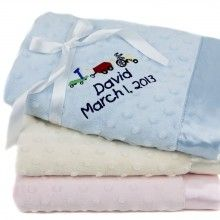 The Best Personalized Baby Boy Blankets + Las Mejores Mantas Personalizadas Para Bebes Varones !!! http://bravechica.blogspot.com/2013/05/the-best-personalized-baby-boy-blankets.html