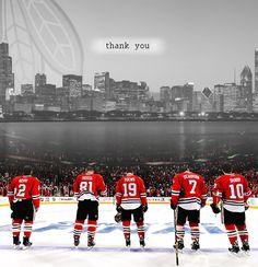 Thank you Chicago Blackhawks for playing your heart out.  Season ended for the Hawks in game 7 of WCF on Sunday 6/1/2014.