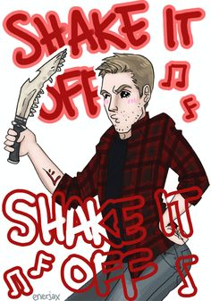 Haters gonna hate, Dean, just shake it off XDD This parody made me so happy