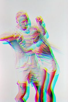 Die Antwoord, zef to death. Would love a print like this on my wall...