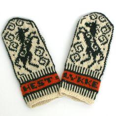 Damevotter, Jorid Linviks design Mittens, Gloves, Knitting, Winter, Design, Tricot, Fingerless Mitts, Winter Time, Breien