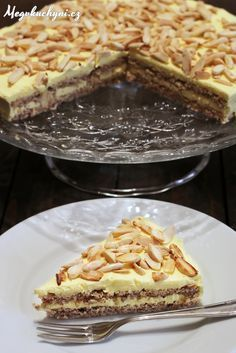 dort krále Oscara Archives - Meg v kuchyni Baking Recipes, Cookie Recipes, Snack Recipes, Dessert Recipes, Sweet Desserts, Sweet Recipes, Kolaci I Torte, Czech Recipes, Almond Cakes