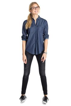 Esprit : Blusa ajustable en 100% algodón en la Online-Shop