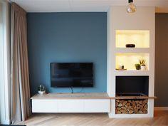 Fireplace Tv Wall, Fireplace Design, Foyer, Decoration, Living Room Decor, Sweet Home, Lounge, Interior Design, Bedroom