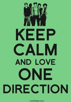 Keep Calm and Love #OneDirection