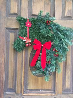 Your place to buy and sell all things handmade Horse Head Wreath, Christmas Wreaths, Horses, Holiday Decor, Handmade, Christmas Garlands, Hand Made, Holiday Burlap Wreath, Horse