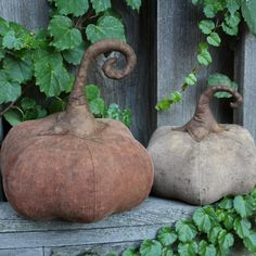 Love these pumpkins!  Created by Rock River Stitches - design by Tickled Primitive