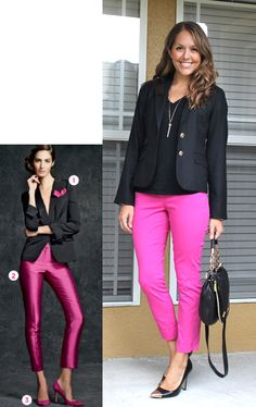Inspiration: Talbots - like the black tank with black jacket