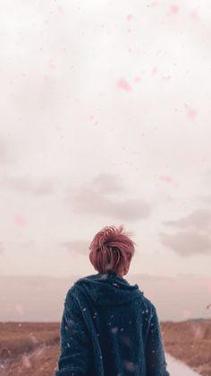 """You Never Walk Alone : Spring Day MV - Jimin Lockscreen/Wallpaper [DL] """