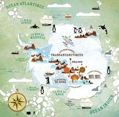 Carte Arctique