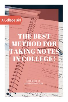Best Methods for taking notes in college | college note taking | how to take notes in class