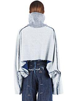 Hannah Jinkins Raglan Fisher Layered Sweater