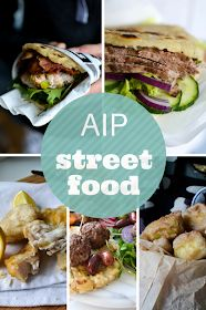 20 AIP compliant recipes to satisfy your street food craving! Doner kebabs, fried fish, Mezze... have fun with your food tonight. Which one...