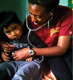 "While in Santiago, Guatemala, Antonette Shaw, Nu'11, GNu'13, conducted a check-up on a young boy who identified himself as ""the man of the house."" Enrolled in the Maternal and Infant care in the Americas course offered at Penn Nursing as a part of her Global Health minor studies, Antonette travelled to the rural community of T'zanchaj in Santiago, a town located around Lake Atitlan. She spent a day assisting with prenatal visits for expecting mothers."