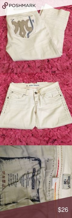 MEK Denim capris Sicily Capri size 26. Excellent condition. Open to offers MEK Jeans Ankle & Cropped