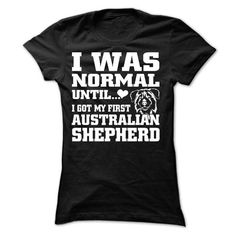 Australian Shepherd - #teacher gift #gift for friends. SAVE => https://www.sunfrog.com/Pets/Australian-Shepherd-60424019-Ladies.html?68278