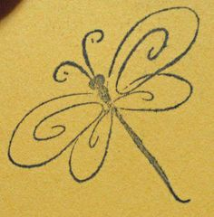 Cute Dragonfly Tattoos | Maybe this will be cute with the one on my ankle