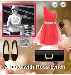 """""""A Date with Ross Lynch"""" by isaurapop ❤ liked on Polyvore"""