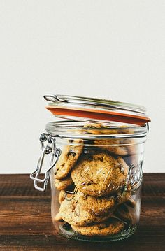 sea salt chocolate chip cookies.