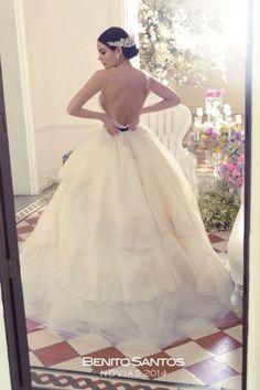 Vestidos en la boda de ximena navarrete
