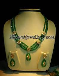 Image result for ruby beads jewellery designs