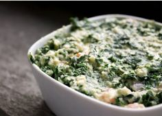 Planning your Thanksgiving menu? This will be a great fit! #Vegan Creamed Kale.