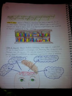 Amazing reading notebook...there are a TON of examples here....ideas galore!