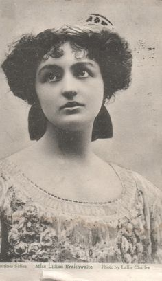 "Edwardian ""Music Hall Actress"""