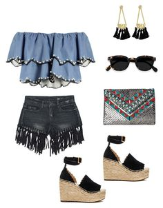 """Summer Festival"" by laura-uzan ❤ liked on Polyvore featuring HUISHAN ZHANG, Sans Souci, Rebecca Minkoff, Chloé and La Regale"