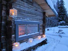 Cold winter and Sauna